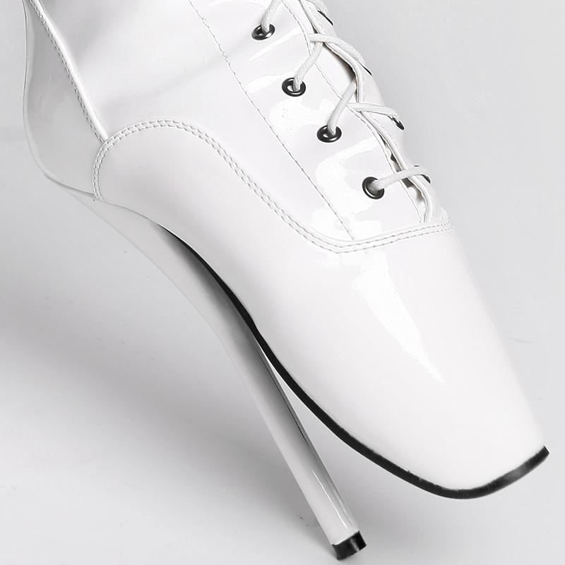 overknee ballett high heels stiefel gr 45 wei neu 2 wahl. Black Bedroom Furniture Sets. Home Design Ideas