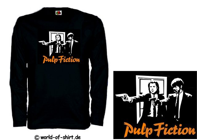 PULP FICTION LONGSLEEVE VINCENT & JULES TARANTINO 18