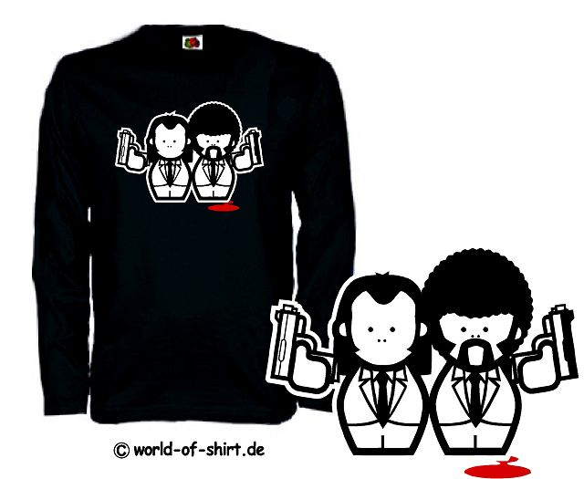 PULP FICTION LONGSLEEVE SHIRT TARANTINO KULT S-XXL DVD9