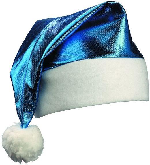 nikolausm tze glanz blau weihnachtsm tze m tze neu. Black Bedroom Furniture Sets. Home Design Ideas