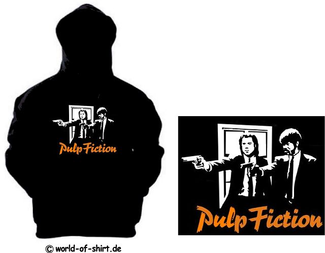 PULP FICTION KAPUZENSWEAT VINCENT & JULES TARANTINO 19