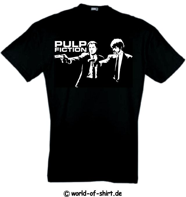 PULP FICTION T-SHIRT VINCENT & JULES TARANTINO S-XXL 16