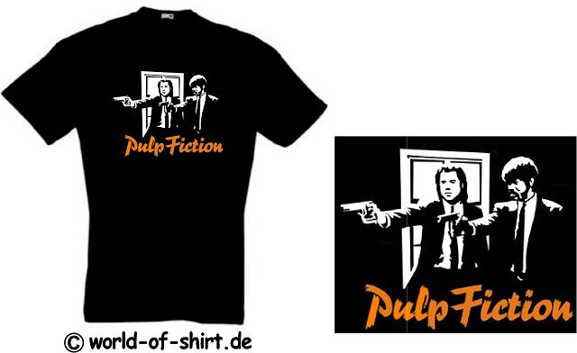 PULP FICTION T-SHIRT VINCENT & JULES TARANTINO NEU 20(S)