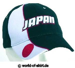 JAPAN / NIPPON CAP MIT 3D STICK TOP NEU