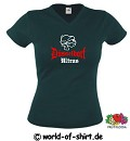 DÜSSELDORF HARDCORE HOOLIGAN ULTRAS SEXY GIRLIE SHIRT