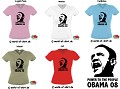 DAS POWER TO THE PEOPLE OBAMA GIRLIE SHIRT NEU & SEXY