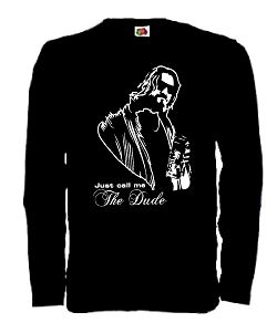 THE BIG LEBOWSKI LONGSLEEVE T-SHIRT THE DUDE KULT S-XXL (L)