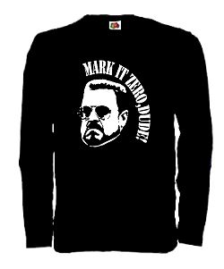 THE BIG LEBOWSKI WALTER LONGSLEEVE SHIRT THE DUDE KULT