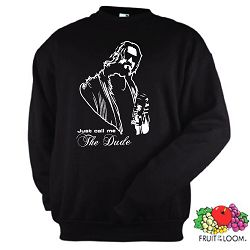 THE BIG LEBOWSKI SWEATSHIRT PULLI THE DUDE KULT S-XXL