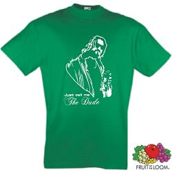 THE BIG LEBOWSKI T-SHIRT CALL ME DUDE RETRO KULTSHIRT