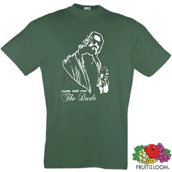 THE BIG LEBOWSKI T-SHIRT THE DUDE RETRO KULTSHIRT S-XXL