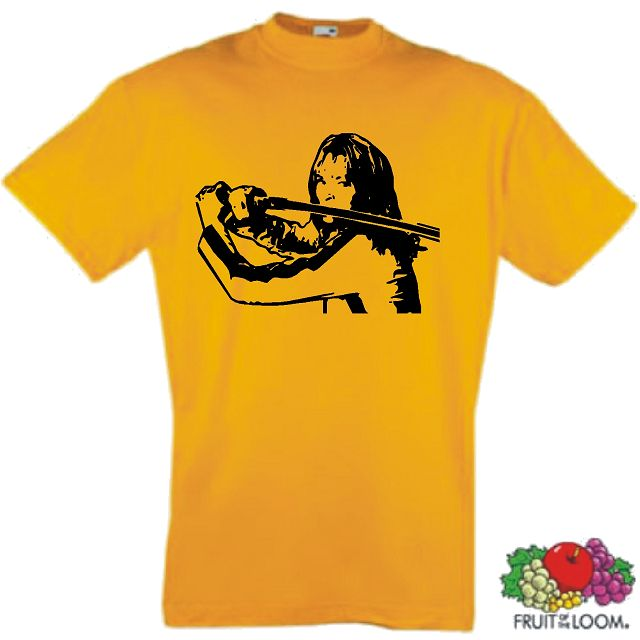 KILL BILL T-SHIRT UMA THURMAN KULT TARANTINO S-XXL 2 (XLg)