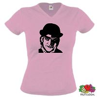 CLOCKWORK ORANGE VON ANTHONY BURGESS GIRLIE T-SHIRT