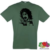 FRANK ZAPPA POPKULTUR ROCK AND ROLL HALL T-SHIRT S-XXL