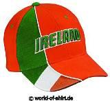 IRLAND / IRELAND CAP MIT 3D STICK TOP NEU