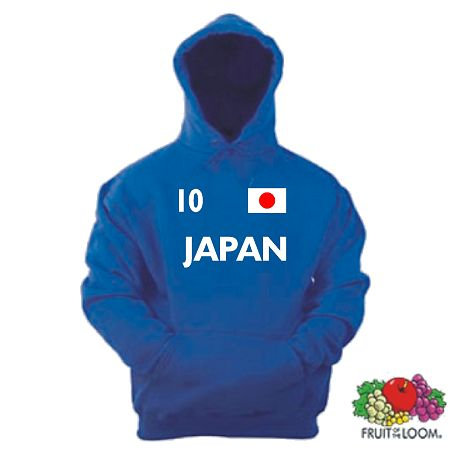 JAPAN /NIPPON KINDER 104-164 KIDS KAPUZENSWEAT SHIRT 35
