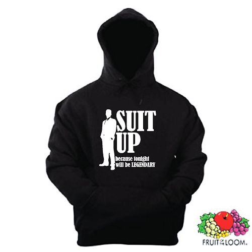 SUIT UP KAPUZENSWEAT HOW I MET YOUR MOTHER SEASON S-XXL