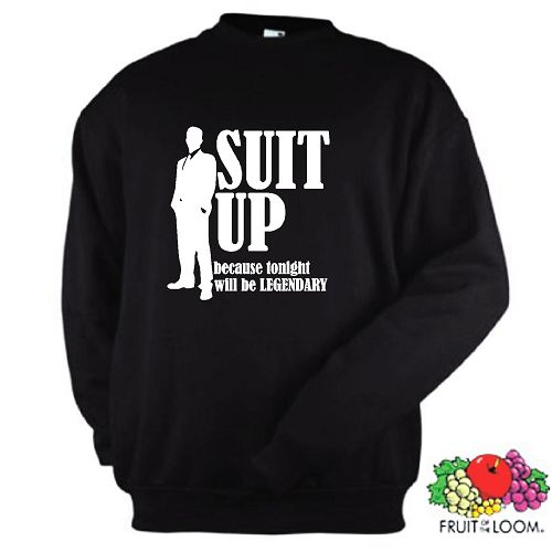 SUIT UP SWEATSHIRT HOW I MET YOUR MOTHER SEASON S-XXL
