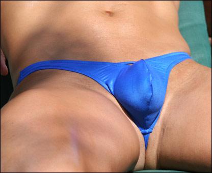 Wax aroused bikini by