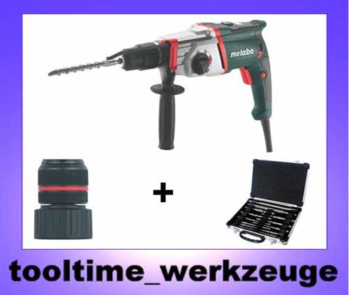 metabo multihammer uhe 2850 multi bohrhammer 1010 watt inkl bohr u mei elsatz ebay. Black Bedroom Furniture Sets. Home Design Ideas