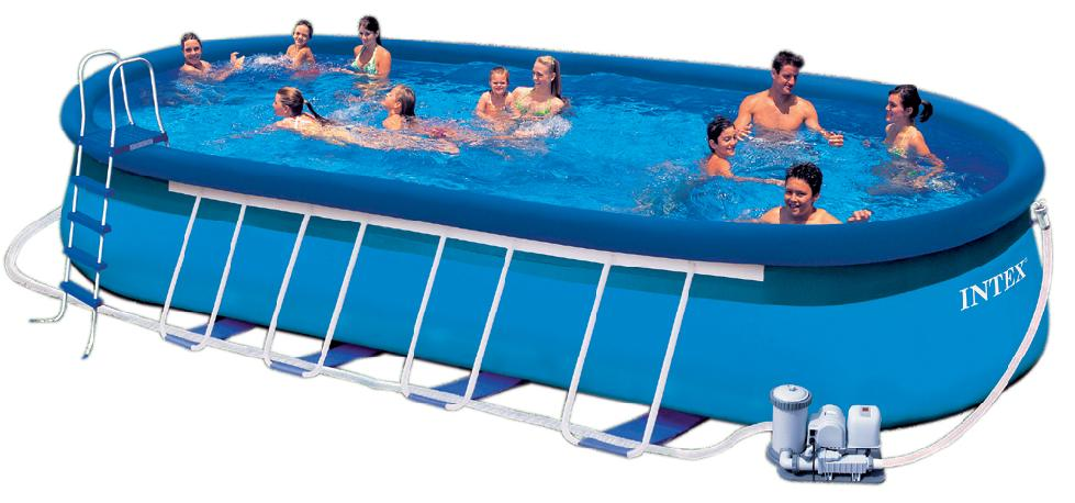 quick up swimming pool 610x366x122 schwimmbad intex 28194 inkl zubeh r 104624 ebay. Black Bedroom Furniture Sets. Home Design Ideas