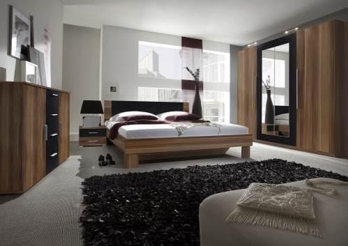 schlafzimmer vera verschiedene farben doppelbett kleiderschrank