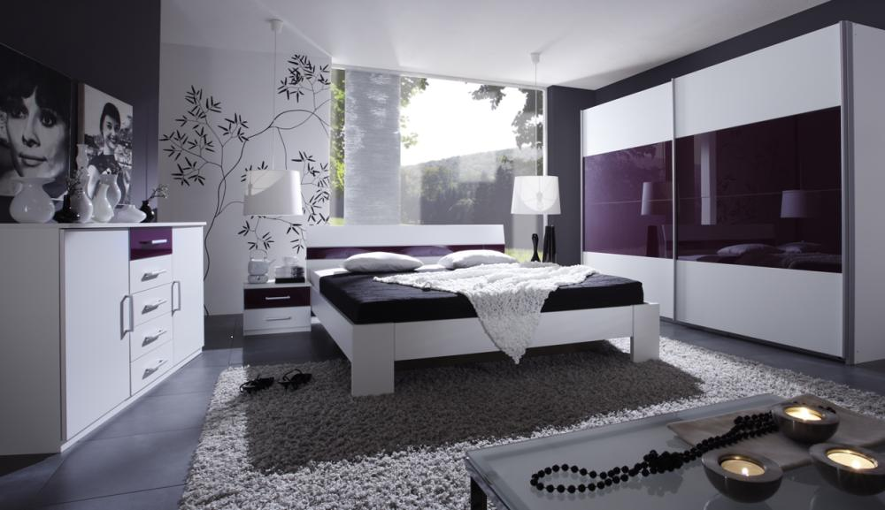 glass furniture schlafzimmer komplett schwebet renschrank. Black Bedroom Furniture Sets. Home Design Ideas