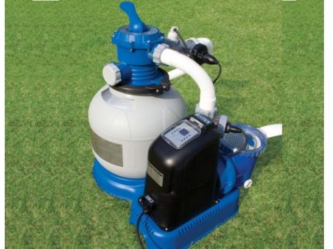 Filtro sabbia impianto chlorinator 6000 l filtro piscina 56678 intex 6 funzioni 8782 ebay - Filtro a sabbia piscina ...