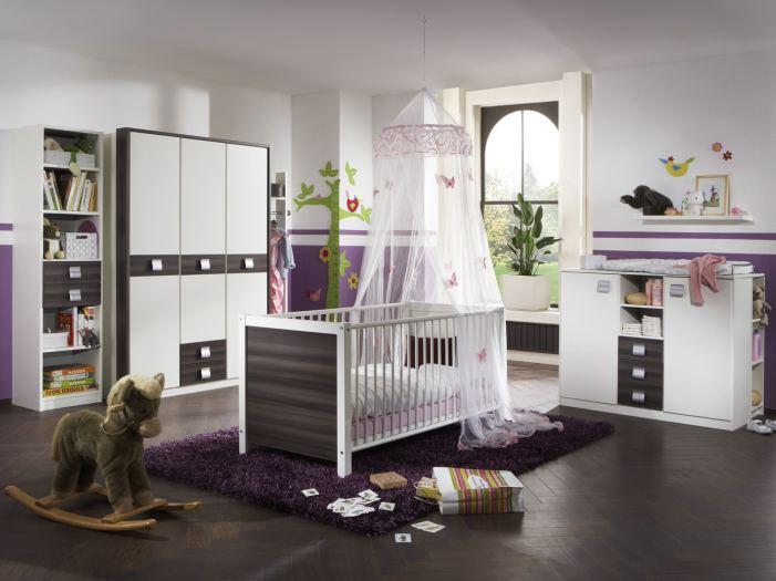 Top angebot babyzimmer kinderzimmer baby bett schrank nussbaum jette 8885 ebay - Babyzimmer nussbaum ...