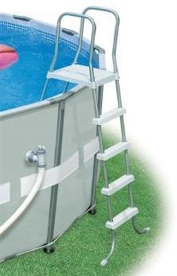ultra frame swimming pool 549x132 schwimmbad komplettset 54456 intex neu 108898 ebay. Black Bedroom Furniture Sets. Home Design Ideas