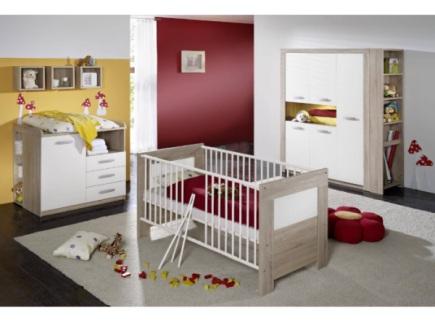 Top angebot 6 tlg babyzimmer komplett schrank bett for Babyzimmer komplett angebot