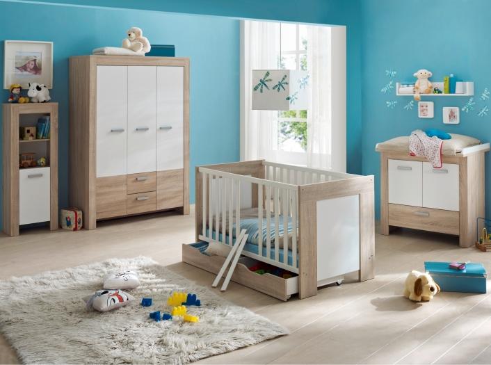 Top angebot babyzimmer kinderzimmer schrank bett for Kinderzimmer angebot