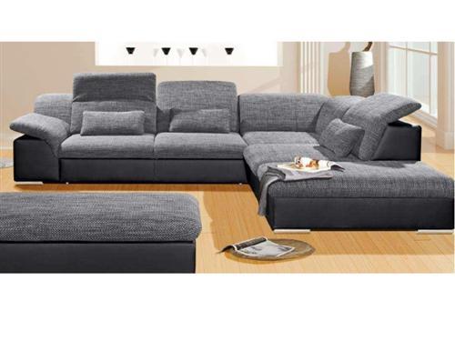 polstergarnitur wohnlandschaft sofa couch sitzecke couchgarnitur 324x264cm 9414. Black Bedroom Furniture Sets. Home Design Ideas