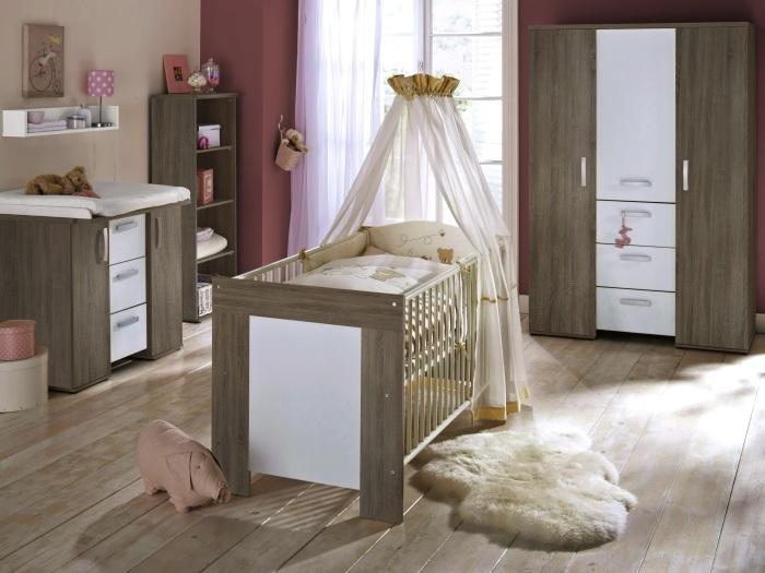 Top angebot 6tlg babyzimmer kinderzimmer bett schrank michi 109461 - Babyzimmer michi ...