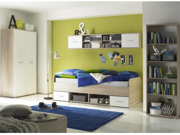 Jugendzimmer nanu 4 teile komplettset kleiderschrank for Jugendzimmer ohne kleiderschrank