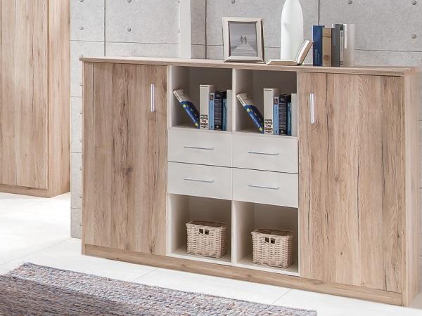 jugendzimmer lenny 4 teile mit funktionsbett schreibtisch kleiderschrank kommode. Black Bedroom Furniture Sets. Home Design Ideas
