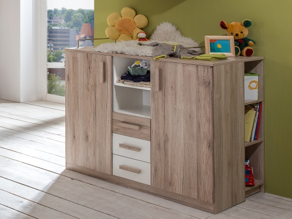 babyzimmer cariba 8 tlg kleiderschrank babybett. Black Bedroom Furniture Sets. Home Design Ideas