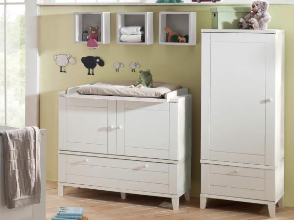 Schön 6 Teiliges Babyzimmer Bella Weiß 109720