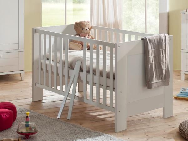 babyzimmer bella 6 teilig wei komplettset babybett kleiderschrank wickelkommode ebay. Black Bedroom Furniture Sets. Home Design Ideas