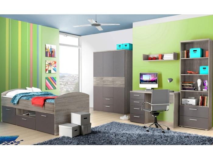 Jugendzimmer jimmy 5tlg kinderzimmer m bel set for Jugendzimmer mit funktionsbett