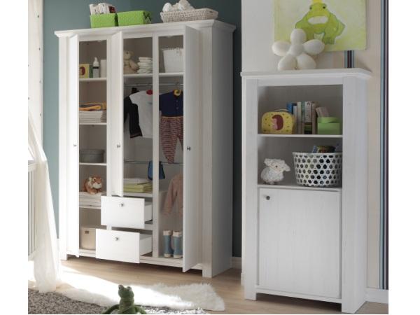 babyzimmer dandy 5teilig kinderzimmer komplettset babybett wickelkommode 109945 ebay. Black Bedroom Furniture Sets. Home Design Ideas