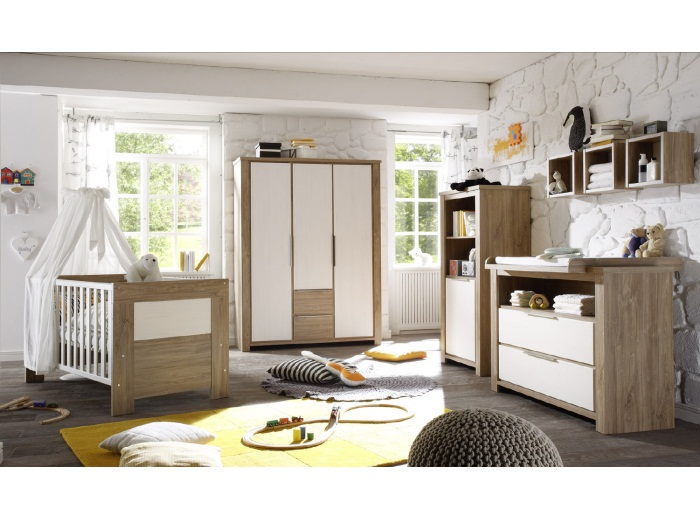 babyzimmer granny 5teilg kinderzimmer set baby. Black Bedroom Furniture Sets. Home Design Ideas