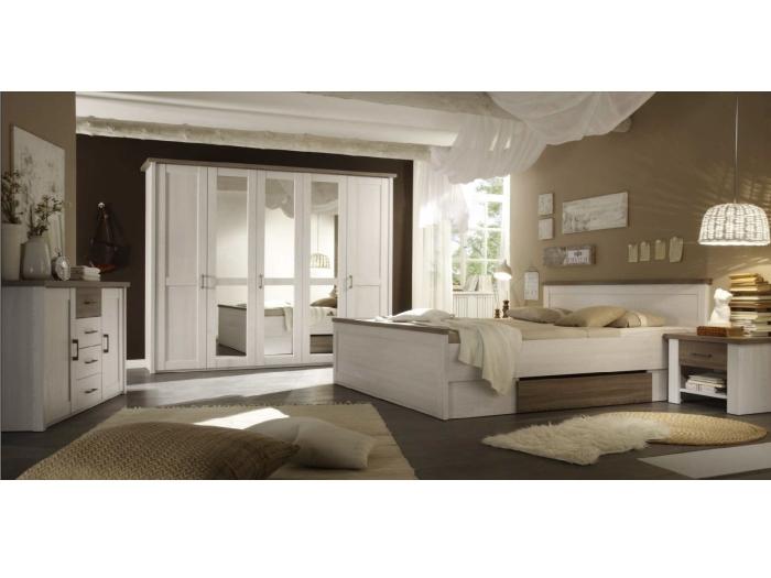 schlafzimmer luca mit kommode. Black Bedroom Furniture Sets. Home Design Ideas