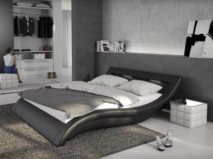 m bel direkt sofort lieferbar bett loox 180 x 200 cm. Black Bedroom Furniture Sets. Home Design Ideas