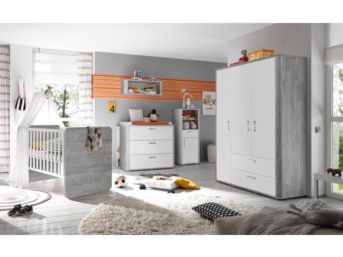 babyzimmer frieda baby babybett wickelkommode schrank verschiedene ausf hrungen ebay. Black Bedroom Furniture Sets. Home Design Ideas