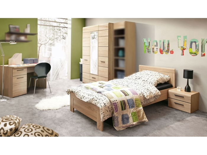 jugendzimmer combino kinderzimmer schrank bett schreibtisch verschiedene sets ebay. Black Bedroom Furniture Sets. Home Design Ideas