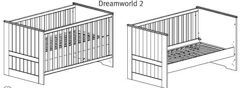 top angebot babyzimmer kinderzimmer roba dreamworld. Black Bedroom Furniture Sets. Home Design Ideas