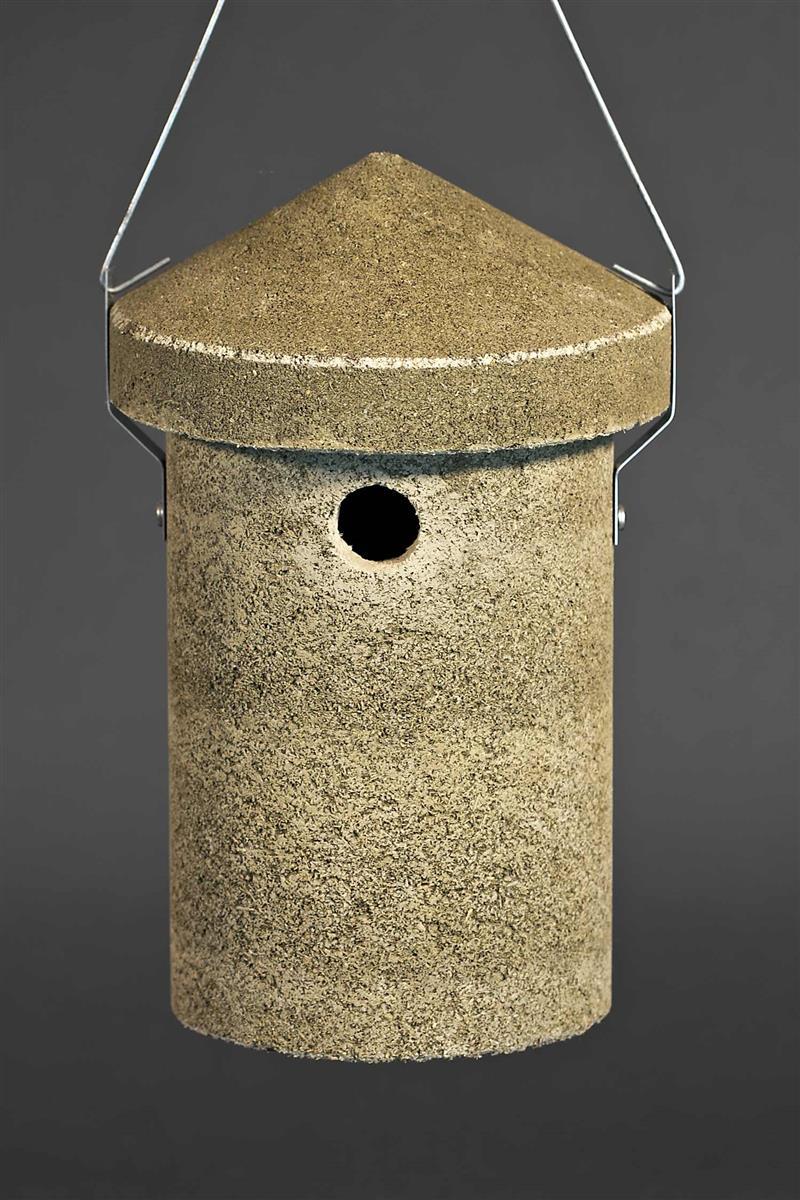nistkasten nisthilfe vogelhaus nisth hle aus holzbeton. Black Bedroom Furniture Sets. Home Design Ideas