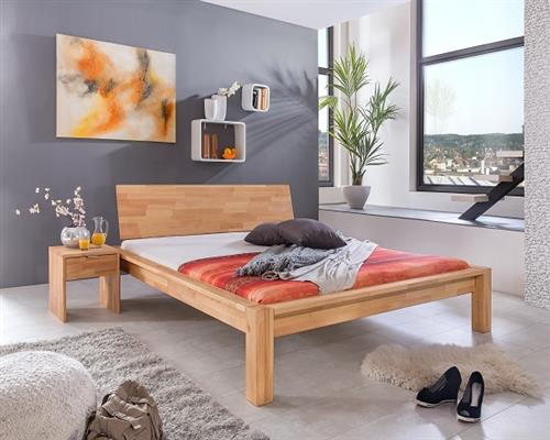 massivholzbett lucca bett massiv bettgestell doppelbett ge lt 160x200 200x200 ebay. Black Bedroom Furniture Sets. Home Design Ideas