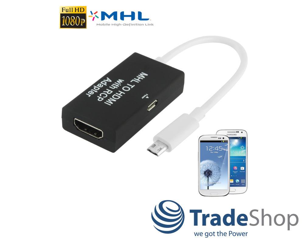 micro usb mhl auf hdmi kabel hdtv adapter mit rcp f r huawei p8 lite ebay. Black Bedroom Furniture Sets. Home Design Ideas